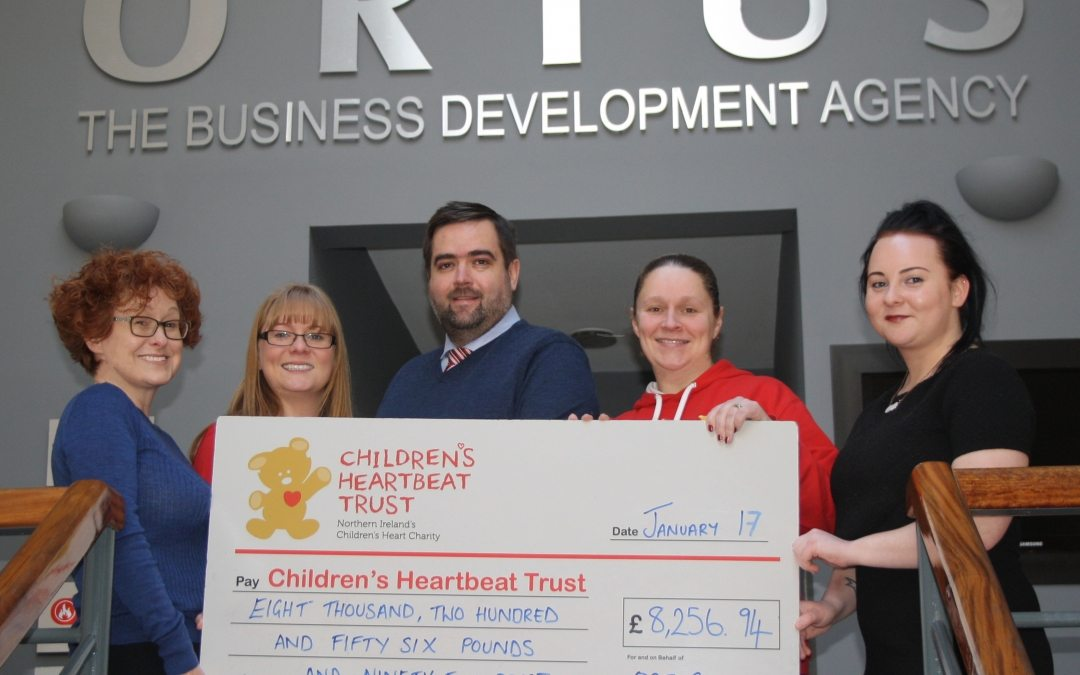 The Heart of Fundraising – The Ortus Group announce Charity Partnership 2016 Donation
